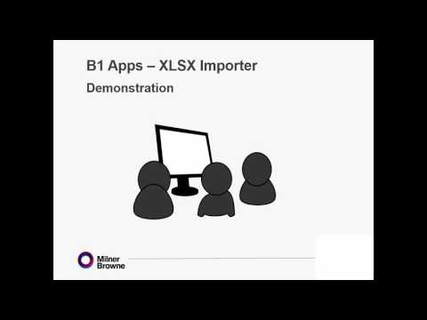 Transfer your data from Excel into SAP with B1 XLSX Importer