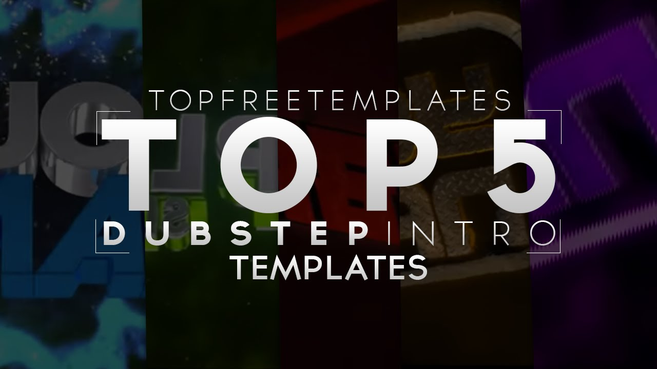 best top 5 free dubstep intro templates 2015 c4d sony vegas