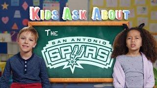 Kids Ask Tough Questions About The San Antonio Spurs