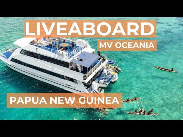 Liveaboard MV Oceania - Papua New Guinea scuba diving