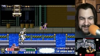 Old School: Mighty Morphin' Power Rangers - The Movie (SNES)