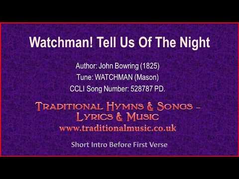 Watchman! Tell Us Of The Night - Christmas Lyrics & Music Video