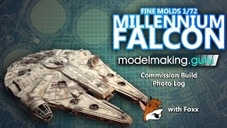 Guru Montage: Fine Molds 1/72 Millennium Falcon Commission Build