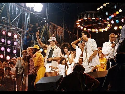 USA For Africa - We Are The World Live Aid 1985 - (HD ...