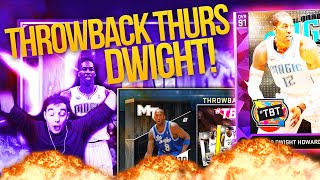 NBA 2K16 My Team AMETHYST DWIGHT! THROWBACK THURSDAY BOX PACK OPENING!