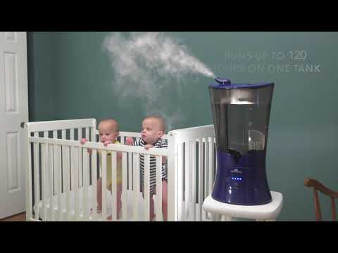 Air Innovations MH903XL Clean Mist Top Fill Humidifier with Aroma Tray