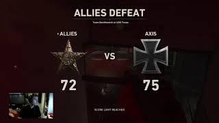 call of duty World war 2 - Multiplayer - team deathmatch