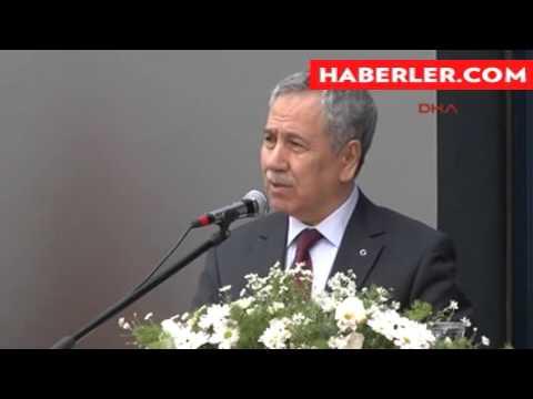Başbakan Yardımcısı Bülent Arınç açılış töreninde