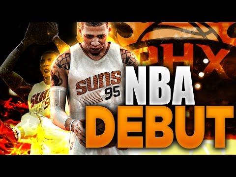 NBA 2K17 MyCAREER - LVP's EPIC NBA DEBUT!!!