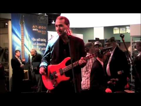 Namm 2012 Peavey AT-200 Auto-Tuning Guitar with Jireh Music and More
