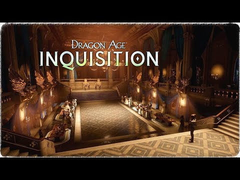 Dragon Age: Inquisition - Grand Ballroom Ambient   1 Hour Version    HD