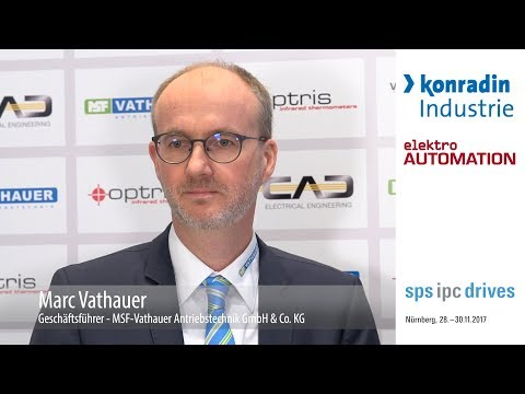 SPS IPC Drives 2017   Marc Vathauer, MSF Vathauer GmbH & Co  KG