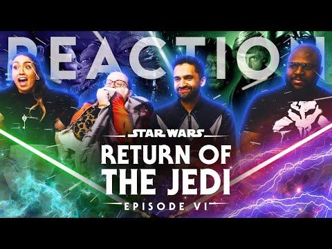 Star Wars - Episode VI Return Of The Jedi - Group Reaction