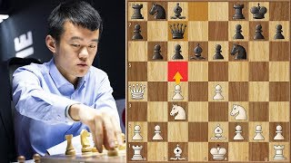 Going All Out || Firouzja vs Ding || FIDE World Cup (2019)