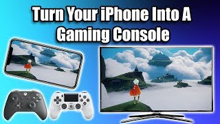 Turn Your iPhone Or iPad Into A Gaming Console - HDMI+Controller+Apple Arcade=Awesome!