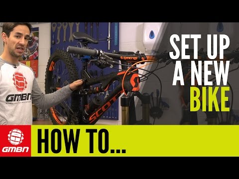 How To Set Up A New Mountain Bike | MTB Maintenance