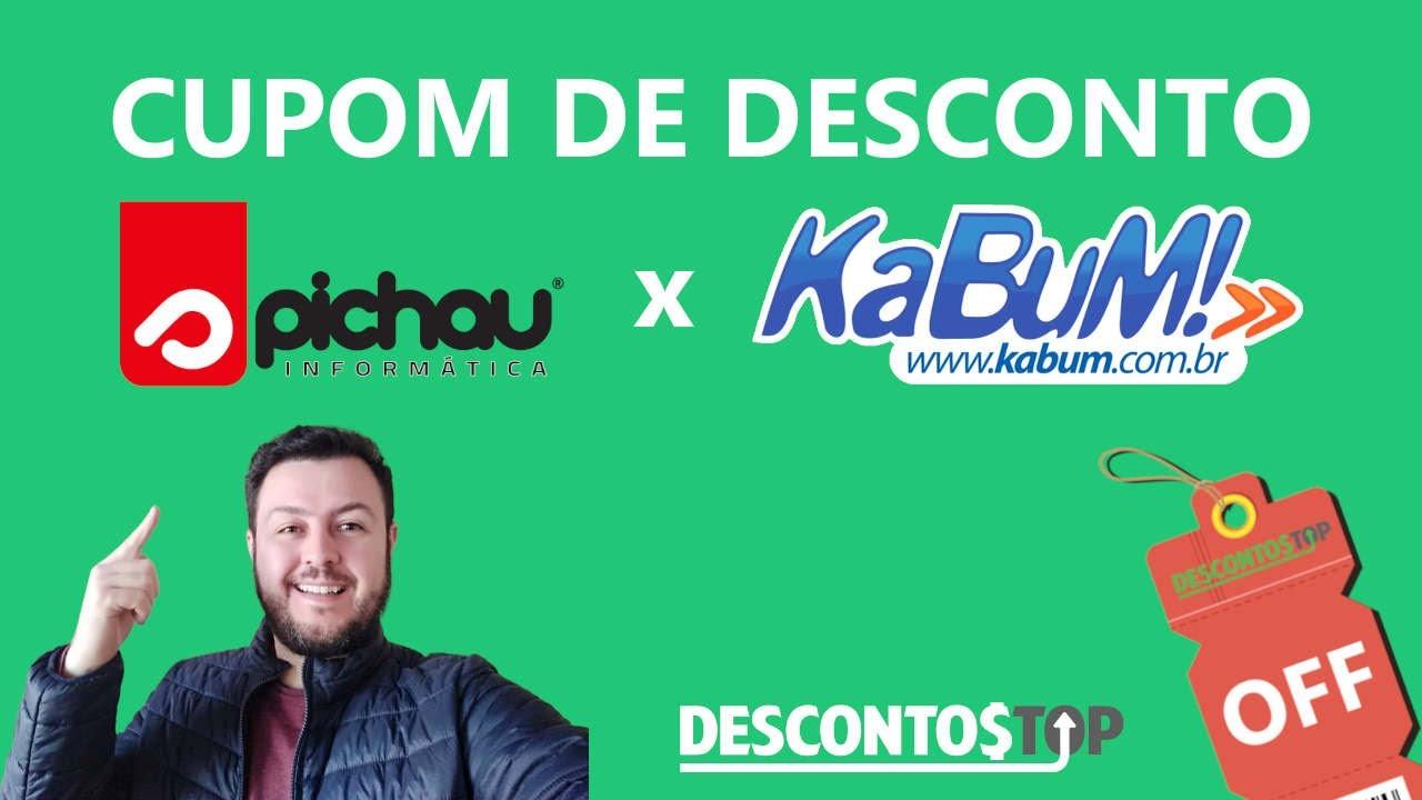 Cupom de Desconto Pichau x KaBuM - YouTube