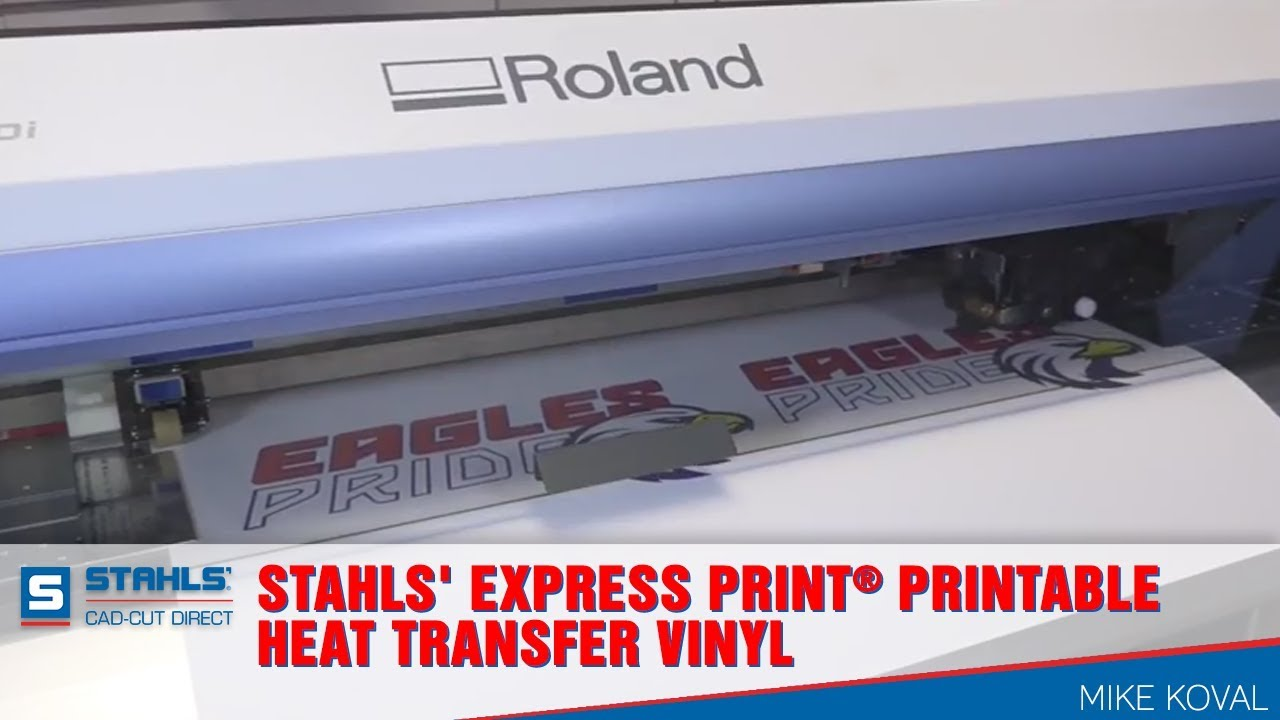 picture regarding Printable Transfers called Stahls Categorical Print® Printable Warmth Shift Vinyl Action
