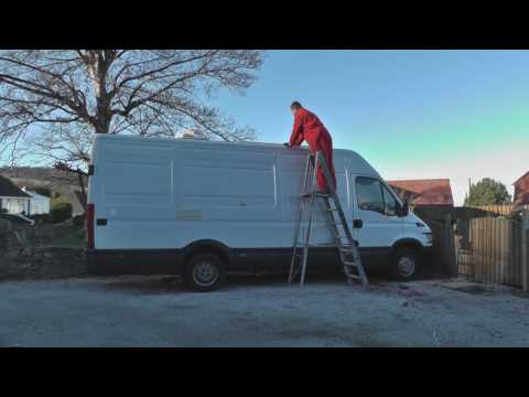 Solar Panel Installation - Campervan Self Build - How to Off