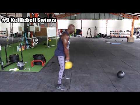 HIIT Workout - Filthy 50 Circuit - CrossFit Style Training