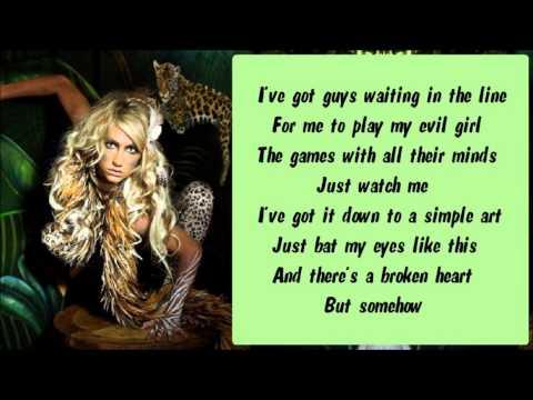 Ke$ha - Stephen Karaoke / Instrumental with lyrics on screen