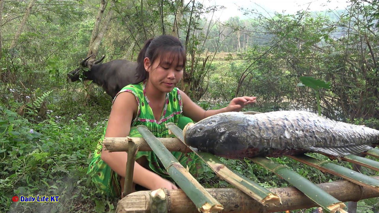 Примитивни методи за риболов, които вършат работа! Тази гладна няма да остане!