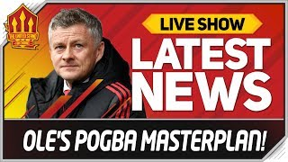 Solskjaer's Pogba Transfer Plan! Man Utd Transfer News