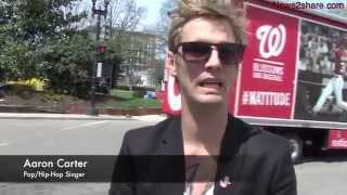 Aaron Carter Discusses Brother's Wedding, Hints at New Album