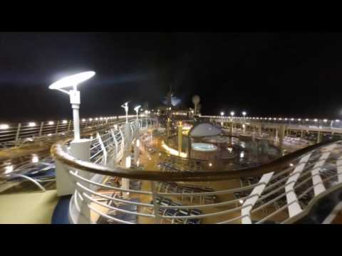Royal caribbean cruise  Navigator of the Seas on the August 21st 2016