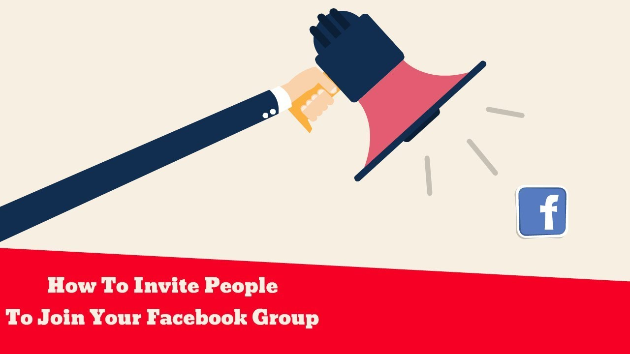 How To Invite People To Join Your Facebook Group Youtube