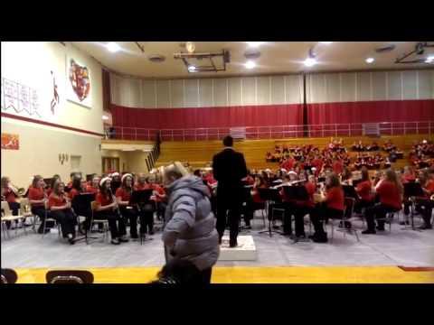 Blackford Junior High School Band-Christmas 2014-4