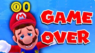 Mario Odyssey but you lose 1 Coin every second. Game Over at 0.