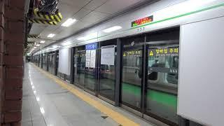 서울교통공사 2호선 시청역 외선순환행 발차