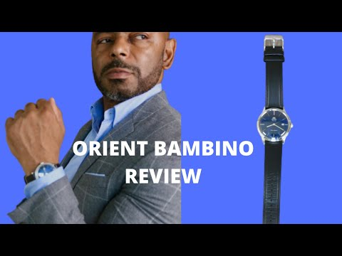 Orient Bambino Watch Review/Best Affordable Dress Watch?
