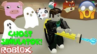 ROBLOX GHOST SIMULATOR! *GHOSTBUSTERS ROLEPLAY*