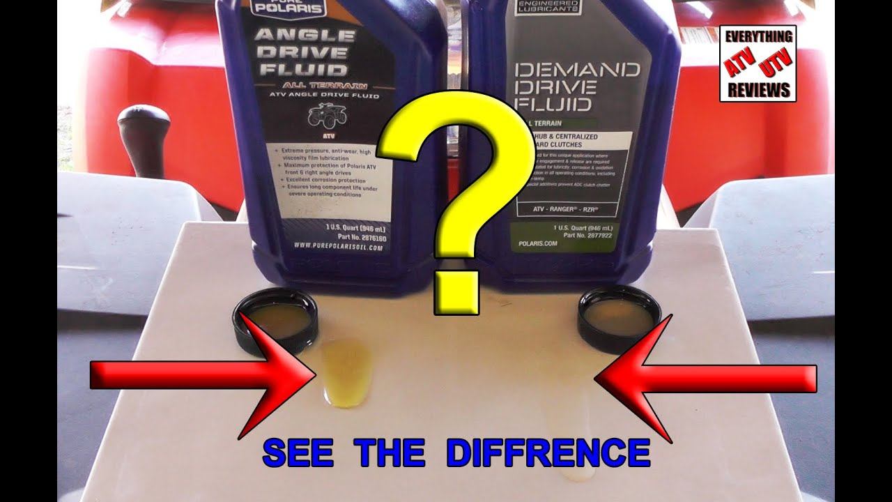 Difference In Demand Drive Fluid And Angle Comparision Polaris Ranger 4x4 Wiring Diagram Youtube