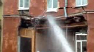 Обрушение дома в Санкт-Петербурге