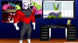 Jiren Reacts To Perfect Cell Vs Toy Story