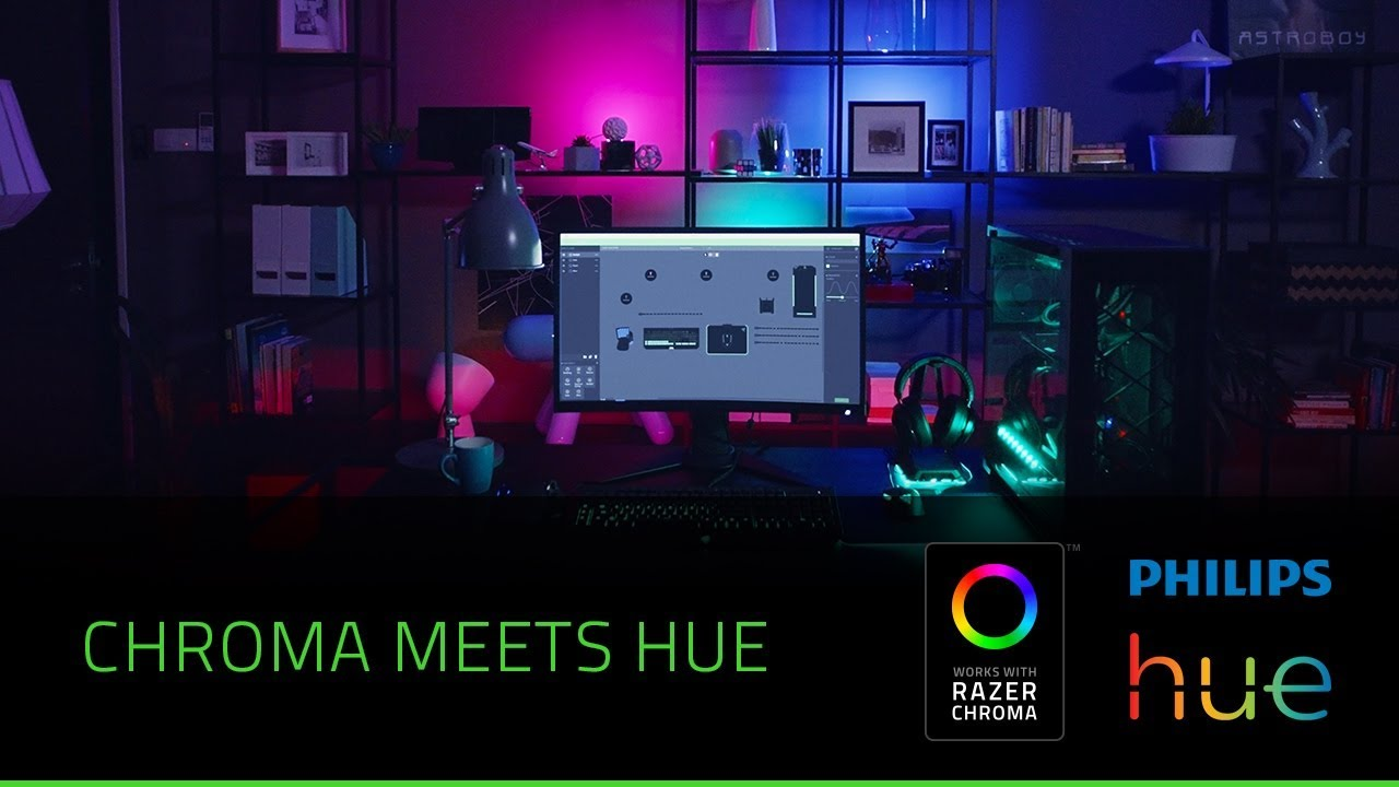 RGB Backlight for Gaming Systems - Razer Chroma and Philips Hue