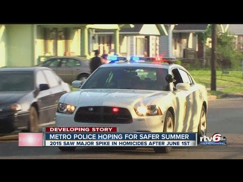 Indianapolis police striving to avoid another deadly summer