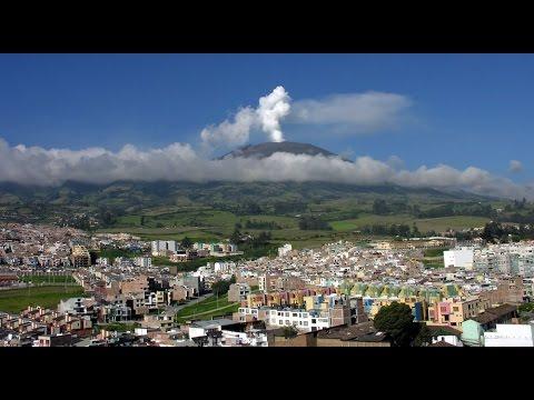 Вулканы и горячие источники Колумбии