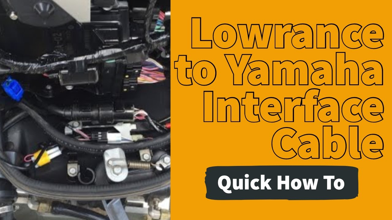 How to Install Yamaha Interface Cable  YouTube