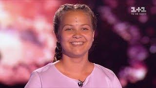 """Вероника Коваленко """"Тает лед"""" – выбор вслепую – Голос. Дети 4 сезон"""