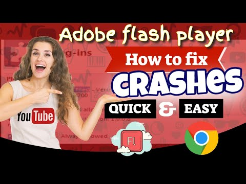 How to fix crashes from adobe flash player in google chrome browser