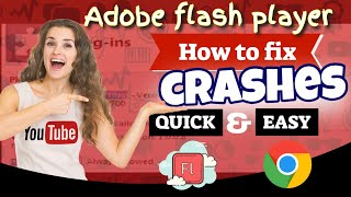 How to fix crashes from adobe flash player in google chrome browser(, 2013-06-11T02:44:46.000Z)