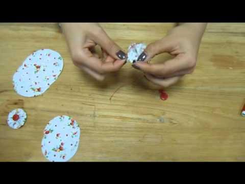 bc646f0642e Bloemen Maken met Stof - Scrapdelight - YouTube