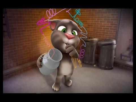 Говорящий Кот Том часть 2 - Мультфильм Игра