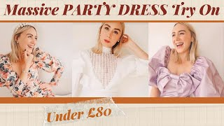 Massive *Statement* Party Dress Try On - All Under £80   SJ STRUM with Italo Jewellery Ad