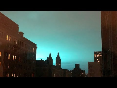 Weird Blue Light in NYC After Explosion: What We Know So Far | News 4 New York