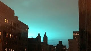 Weird Blue Light in NYC After Explosion: What We Know So Far   News 4 New York